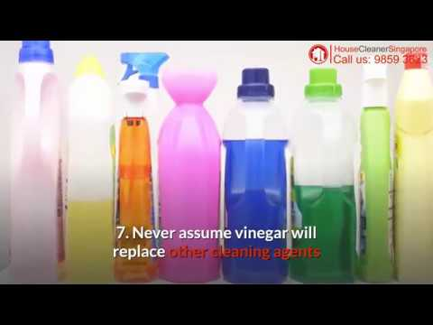 8 Mistakes To Avoid When Using Vinegar For Home Cleaning