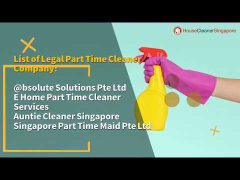 List of legal part time maid agencies in Singapore