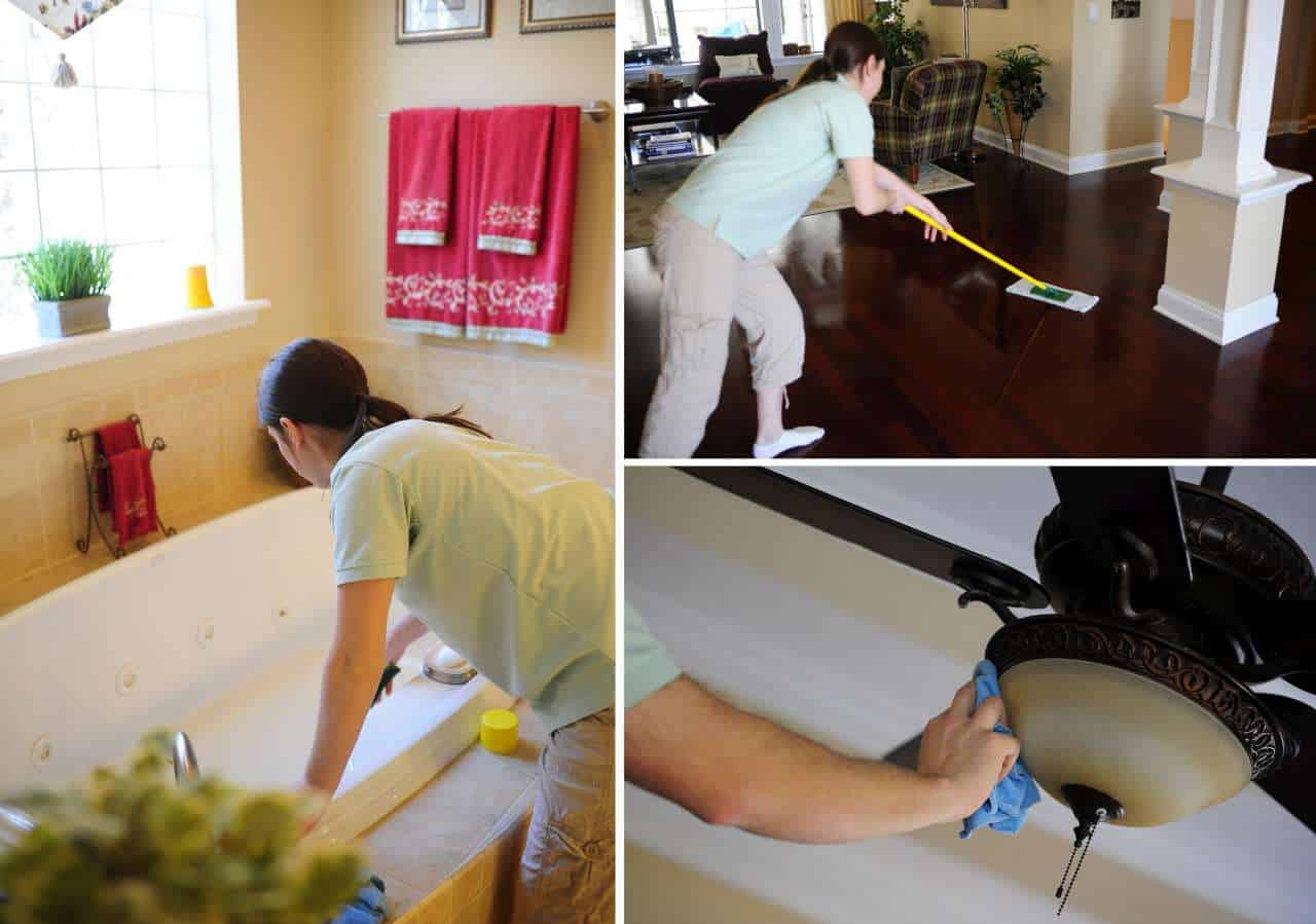 What Are The Cleaning Services We Provide House