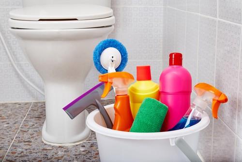 Washing of toilets