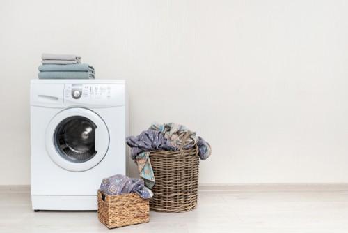 Washing machine wash bedsheet