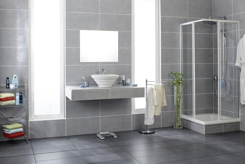 Stains on bathroom tiles
