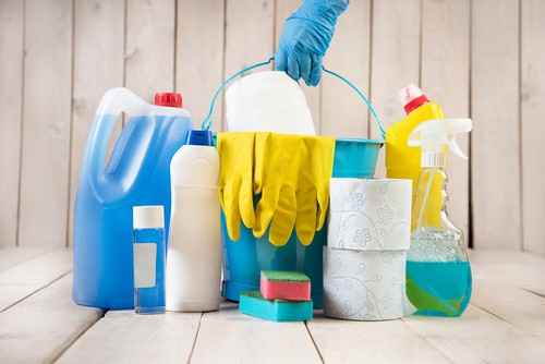 Using the right cleaning tools